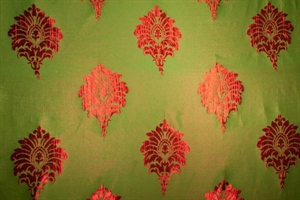 Picture of Brocade Fabric-N